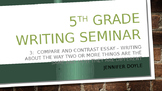 Writing Seminar part 3