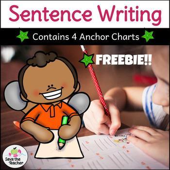 Writing Sentences: Freebie!