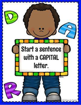 Writing Sentences: Freebie!