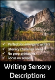 Writing Sensory Descriptions in Elementary