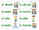 Writing: Sentence Building Cards: Nouns Only (Spanish)