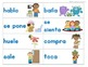 Writing: Sentence Building Cards: Verbs Only (Spanish)