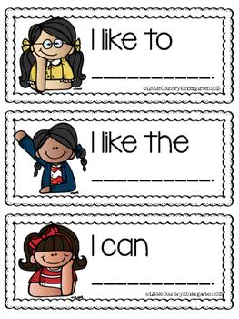Writing Sentence Starters