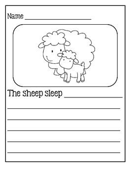Writing Sentences - Farm Edition