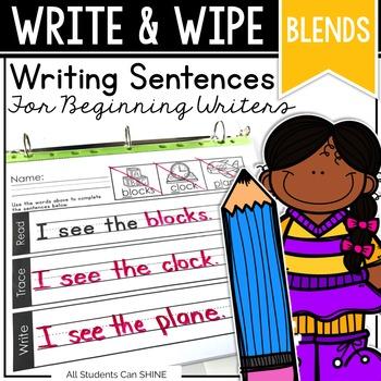 Writing Sentences - BLENDS