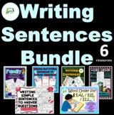 Writing Sentences BUNDLE
