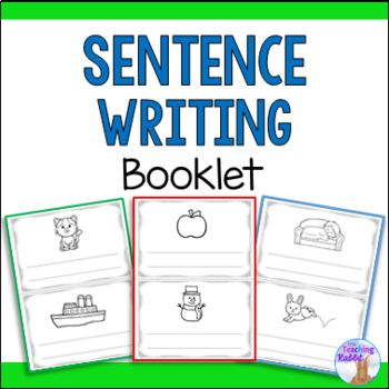 Writing Sentences Booklet