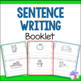 Writing Sentences Booklet