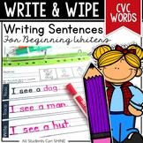 Writing Sentences - CVC Words