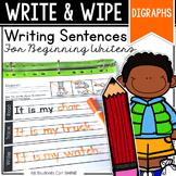 Writing Sentences - DIGRAPHS