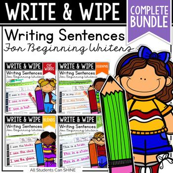 Writing Sentences {Growing Bundle}