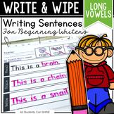 Writing Sentences - LONG VOWELS