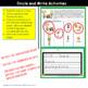 Writing Sentences:  Read, Circle and Write Sentences FALL KIDS THEMED