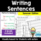 Writing Sentences (Summer)