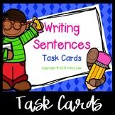 Writing Sentences Task Cards