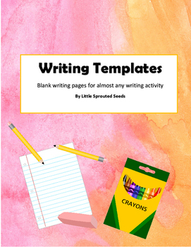Writing Sentences Templates