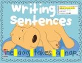 Writing Sentences for Beginners