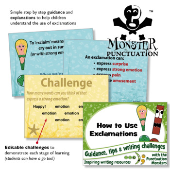Punctuation Guidance: How to use Exclamations