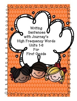 Journey's High Frequency Words for First Grade Sentences