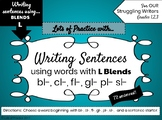 Writing Sentences with L-BLENDS for Struggling Students