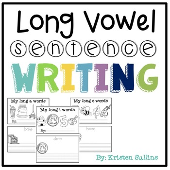 Writing Sentences with Long Vowel (CVCe) Word Families