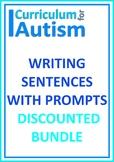 Writing Sentences with Prompts Autism Speech ESL