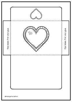 Writing Set For Valentine's Day