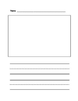 Writing Sheet (Primary Grades)