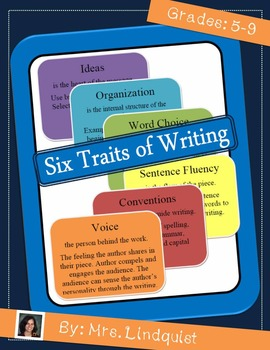 Writing Short Stories using Six Traits as a Guide
