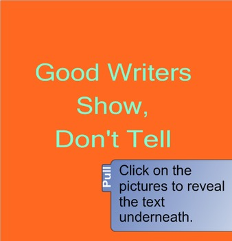 Writing: Show, Don't Tell