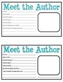 Writing Showcase - Meet the Author