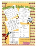 Writing Sight Words (Litearcy First) Printable Worksheets
