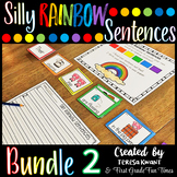 Writing Silly Sentences Set 2 Writing Prompts Sentence Building