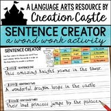 Writing Silly Sentences Word Work Activity