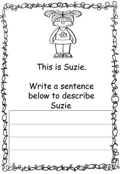 Writing Simple Sentences