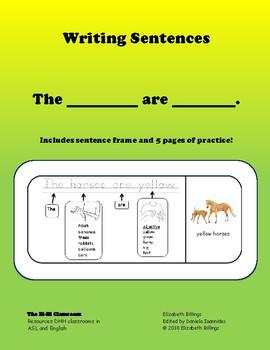 frame sentences