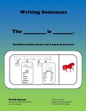 Writing Simple Sentences Using 'is'