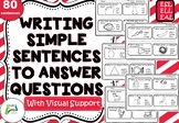 Writing Simple Sentences for ESL / EAL / ELL