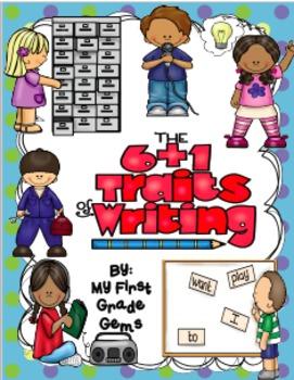 Writing Six Traits +1 Posters