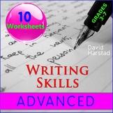 Writing Skills Worksheets