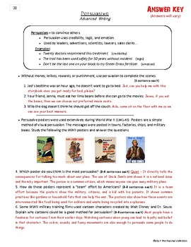 Writing Skills | Five-Paragraph Essay & Persuasive - 2 Printable Worksheets