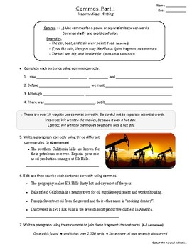Writing Skills: Intermediate - 27 Printable Worksheets (Grades 3-7)