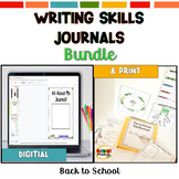 Writing Skills Mini-Lesson Journals BUNDLE | Back to School