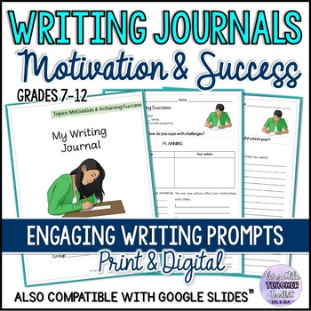Engaging Writing Journal Prompts 1 (Motivation and Success) UPDATED