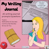 45 Engaging Writing Journal Prompts