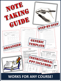 Note-taking Template and Instructional Guide: Works for An