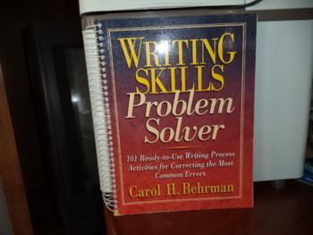 Writing Skills Problem Solver   ISBN30-13-021716-6