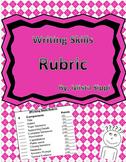 Writing Skills Rubric