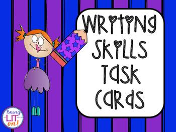 Writing Skills Task Cards