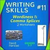 Wordiness and Redundancy - Comma Splice Sentences